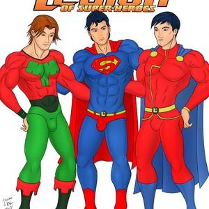 Gay Manga - [Iceman Blue] Legion of Super-Heroes [Eng] – Gay Manga