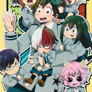 Gay Manga - [Tirol*Cat/ 15 Neko] BNHA doujin – Boku no Takahide Youchien [Eng] – Gay Manga