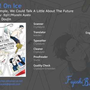 Gay Manga - [Miyoshi Ayato/ 8go!] If, For Example, We Could Talk a Little About the Future and Tonight – Yuri!!! On Ice dj [Eng] – Gay Manga